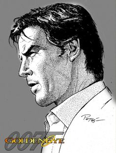 Pierce Brosnan by Patricio Carbajal