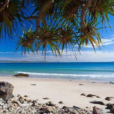 Noosa National Park - Sunshine Coast, Australia ~ find a quieter beach spot during those busier summer days http://blog.queensland.com/2014/03/06/secret-beaches-on-the-sunshine-coast/ #thisisqueensland