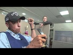"Jim ""Bones"" Mackay proves that chivalry is not dead in his office job as Callaway's yardage expert."