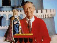 "Childhood PBS Kids show, ""Mr. Rodger's Neighborhood""."