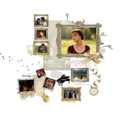 Mr and Mrs Darcy Forever {Pride and Prejudice}, created by janeaustenaddict on Polyvore