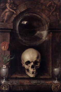 Jacob de Gheyn II. Vanitas, 1603. Wikipaintings.