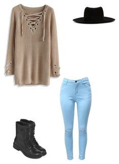 """""""Untitled #321"""" by austynh on Polyvore featuring Chicwish, Arizona and Maison Michel"""