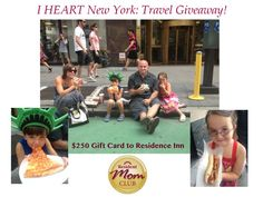 Holiday #Travel Giveaway $250 to Residence Inn