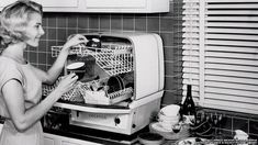 The dishwasher was invented in the 1880s by Josephine Cochrane, who was a wealthy woman that often hosted parties and needed a way to clean her dishes quickly. By the 1920's the dishwasher was a pillar of the kitchen and could be owned by a variety of socioeconomic groups.