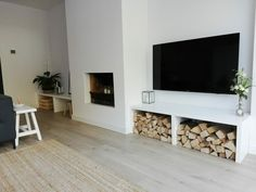 Living Room Decor Fireplace, Modern Fireplace, Happy New Home, Basin Design, Lodge Style, Traditional House, New Homes, Modern Design, Interior