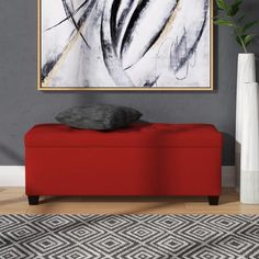 Latitude Run Kleist Upholstered Storage Bench | Wayfair Leather Storage Bench, Storage Bench With Cushion, Bench With Shoe Storage, Upholstered Storage Bench, Entryway Storage, Entryway Furniture, Linens And More, Fabric Storage, Upholstery