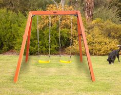 HOLT Double Swing set