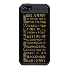 USMA West Point themed iPhone 5 case Skinit cargo