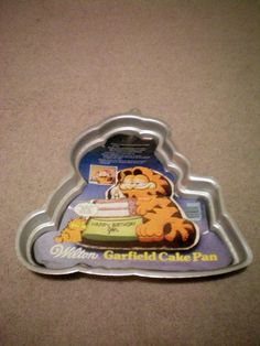 Wilton Garfield Cake Pan  Birthday Garfield Cake  Insert and Instructions Included no plastic face -- Continue to the product at the image link.