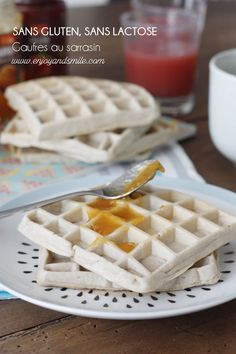 Sans gluten ni lactose, testez les gaufres à la farine de sarrasin pour un petit-dejeuner healthy