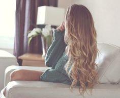 long dirty blonde hair