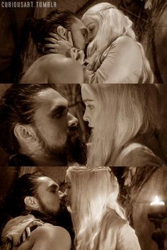 Game of Thrones : Daenerys and Drogo : I Wish to Gaze into Your Eyes