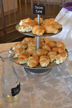 Super Ideas For Wedding Bridal Shower Food Brunch Ideas Bridal Luncheon, Bridal Shower Party, Bridal Showers, Bridal Shower Appetizers, Wedding Shower Foods, Wedding Appetizers, Wedding Foods, Bridal Shower Sandwiches, Food For Bridal Shower