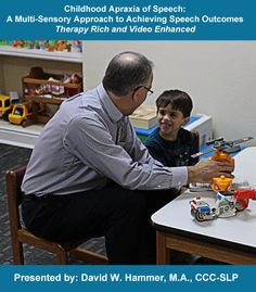This hands-on, practical, therapy-rich presentation will focus on strategies for therapists that facilitate verbal communication for children with apraxia of speech. An overview of evaluation considerations and how they relate to therapy decision-making will be presented. The majority of the presentation will be intervention-based, with a wide range of therapy ideas described. A multi-sensory approach to therapy will be detailed.