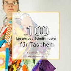 Über 100 kostenlose Schnittmuster für Taschen