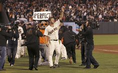 """""""It's a lucky time to be a pitcher.""""  San Francisco Giants pitcher Matt Cain'sperfect ."""