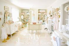 amazing sewing room!