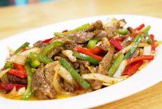 Perfect chinese Black pepper steak