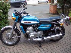 "1972 Suzuki ""water buffalo"" GT 750J my  first bike in germany 1982"
