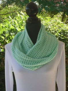 A personal favorite from my Etsy shop https://www.etsy.com/listing/105290111/infinity-eternity-cowl-neck-warmer