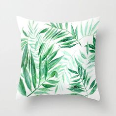 Palm Leaf Throw Pillow, palm leaf pillow, palm leaves pillow, palm throw pillow, leaf throw pillow, modern pillow, tropical pillow by lake1221 on Etsy https://www.etsy.com/listing/538079713/palm-leaf-throw-pillow-palm-leaf-pillow
