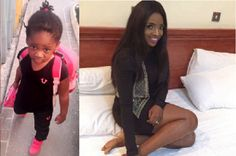 See photos of Annie Idibia's daughter first day in school.. So cute!