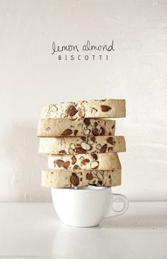 missdailymood: Miss Daily Mood: Lemon Almond Biscotti ♥