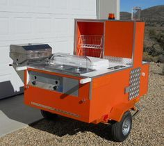 Build Your Own Hot Dog Cart For $497