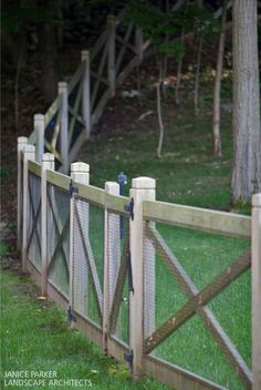 Inspirational Red Brand Fence