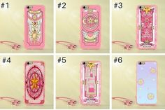 Which do you need? tag your #bff Available for iphone/vivo/huawei/oppo  Cardcaptor Sakura Magic Card Phone Case #SP167398 Link…