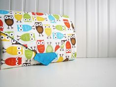 7. Diapering. All-in-1 Changing Pad Diaper Clutch - WipeME 'N DipeME - Custom - Wipeable Waterproof lining. #ecobaby