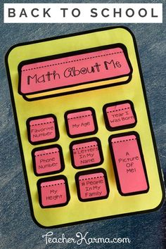 Here's a fun way to incorporate math and numbers into your back-to-school icebreakers! First Day Of School Activities, 1st Day Of School, Beginning Of School, Math Activities, School Teacher, Leadership Activities, School Resources, Math Games, Teacher Stuff