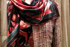 Printed Silk we love at Beau Monde