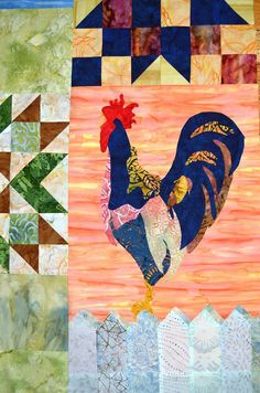 2.The $5 Block of the Month  2013 / Made From Scratch: Chicken & Stars!