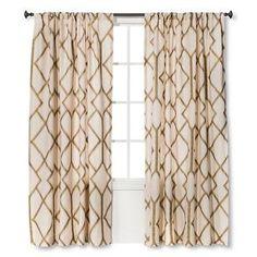 Threshold™ Metallic Curtain Panel