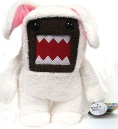 Domo 9 Inch MEDIUM Plush Figure Easter Bunny Domo White Outfit by License to Play, http://www.amazon.com/dp/B006YV7WVO/ref=cm_sw_r_pi_dp_koCGpb0RJ5X13