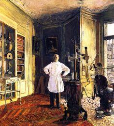 Edouard Vuillard, Doctor Louis Viau on ArtStack #edouard-vuillard #art