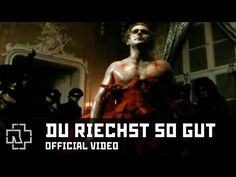 Rammstein - Du Riechst So Gut (Official Video). Title translated means: You Smell So Good. Video is a nice Gothic werewolf story. Till Lindemann, Music Is Life, My Music, Heavy Metal, Werewolf Stories, Fever Ray, Religion, Songs, Venice