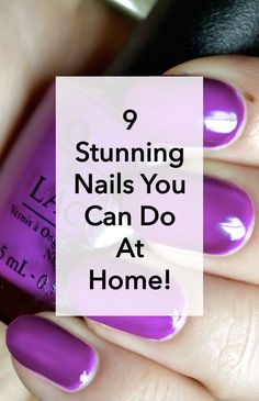 Take your manicure to the next level with a few creative twists that will really stand out. Nail art pens help you get those fine details and if you really want to bring the bling say hello to 3D nail decorations. Get some creative mani inspo with these nine stunning nail looks you can do at home.