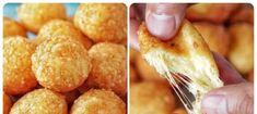 Máte doma kousek sýra a 3 lžíce mouky? Jen 15 minut a máte perfektní pohoštění pro návštěvy – chlebíčky si nikdo nevšimne! Snack Recipes, Snacks, Yams, Pretzel Bites, Baked Potato, Chips, Appetizers, Treats, Vegetables