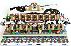 192 Best Lego winter village images in 2019 | Lego christmas