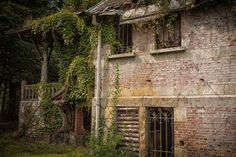 CHATEAU NOTTENBOHM, Brecht, Antwerp, Belgium. Abandoned Property, Abandoned Buildings, Abandoned Places, Antwerp Belgium, Chateaus, See Picture, Palaces, Villas, Decay