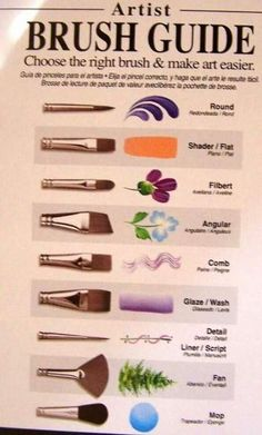 Terry Madden/'s Quality STUDENT Brushes Choose From *4* Different Brushes!