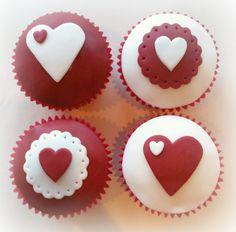 Valentine Cupcakes......