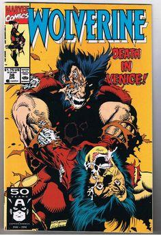 wolverine comic book cover art - Google Search