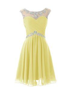 Dresstells® Short Prom Dresses Sexy Homecoming Dress for Juniors Birthday Dress Pink Size 2