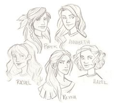 percy jackson and the lightning thief drawings - Google Search