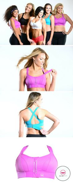 It's so unique, it has patented adjustability that allows you to set your fit and level of support. The non-stretch shoulder straps are convertible, choose between X-Back (across the back) or H-Back ('traditional' over the shoulder) provides lift and customizable support. The design of the Ultimate Sports Bra ensures you'll be comfortable & fully supported regardless of size or athletic level. The best sports bra for cardio workouts, yoga, pilates, dance, & running. | Cu