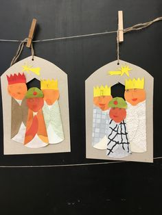Christmas Activities For Kids, Preschool Christmas, Preschool Crafts, Christmas 2015, Merry Christmas, Christmas Ornaments, Holiday, Epiphany Crafts, Art Club